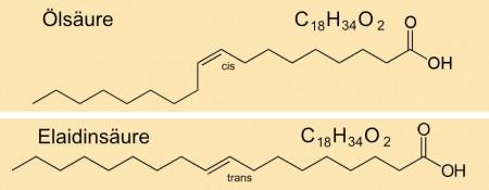Abb. AB 1_2.2-6 vereinfachte grafische Darstellung von Fettsäuren